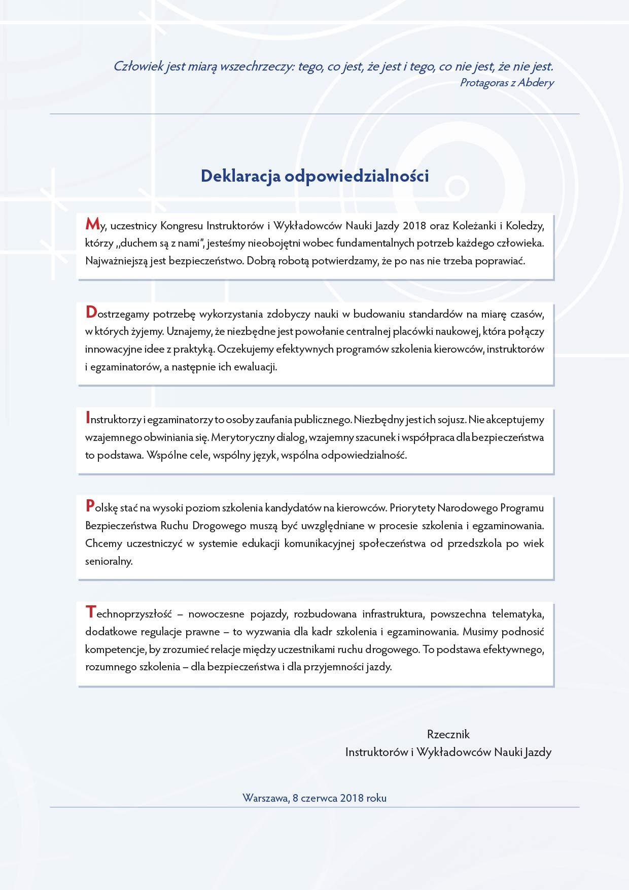 deklaracja 2018